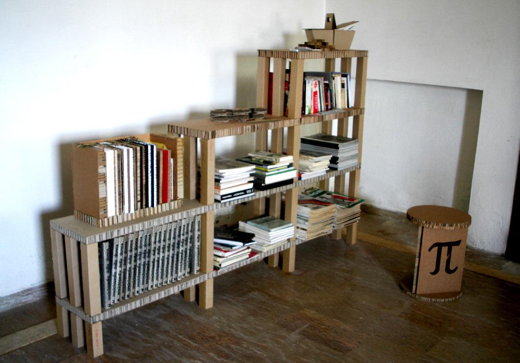 Libreria in cartone ap - Mobili in cartone pressato ...